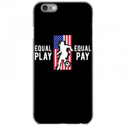 equal pay for equal play, usa flag, women's soccer iPhone 6/6s Case | Artistshot