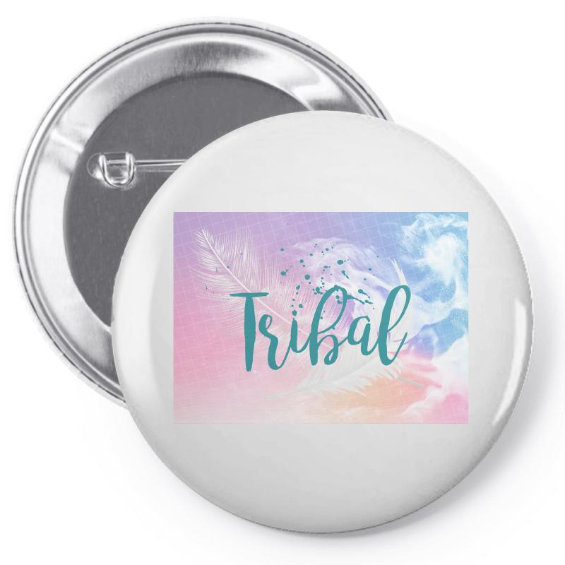 Tribal Pin-back Button | Artistshot