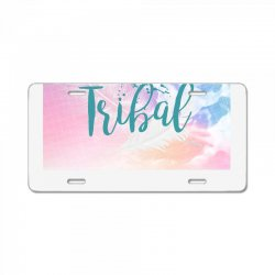 tribal License Plate | Artistshot