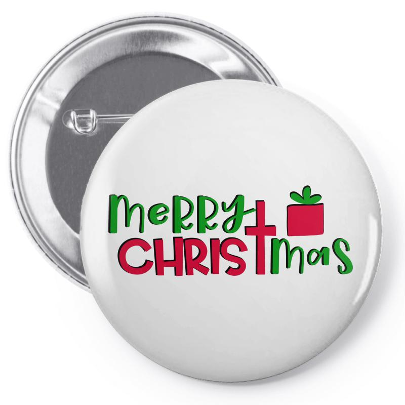 Merry Christmas Pin-back Button | Artistshot