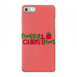 merry christmas iPhone 7 Case | Artistshot