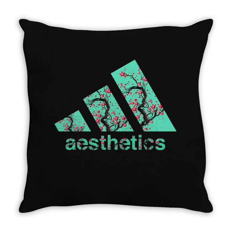Aesthetics Throw Pillow | Artistshot