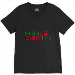 merry christmas V-Neck Tee | Artistshot