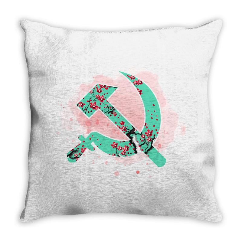 Communist Throw Pillow | Artistshot