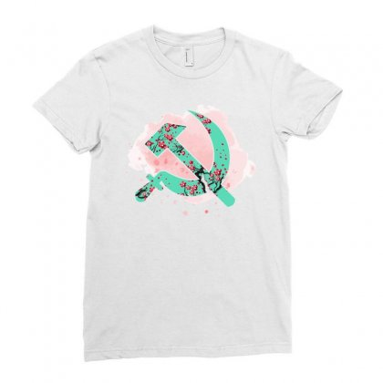 Communist Ladies Fitted T-shirt Designed By Sengul