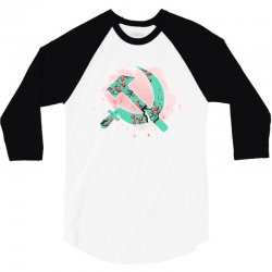 communist 3/4 Sleeve Shirt | Artistshot