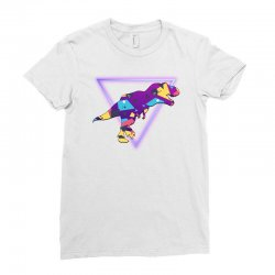 shaped dinosaur Ladies Fitted T-Shirt | Artistshot
