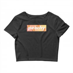 peachy colors Crop Top | Artistshot