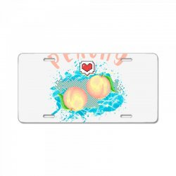peachy License Plate | Artistshot