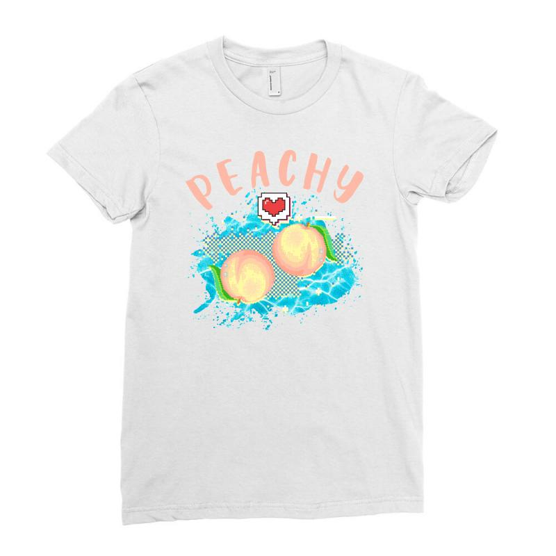 Peachy Ladies Fitted T-shirt | Artistshot