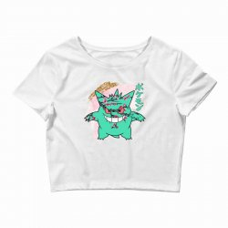 gengar cherry bloom Crop Top | Artistshot