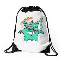 gengar cherry bloom Drawstring Bags | Artistshot