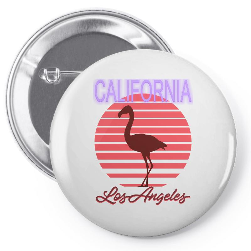 California Los Angeles Pin-back Button | Artistshot