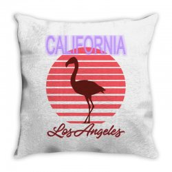 california los angeles Throw Pillow | Artistshot