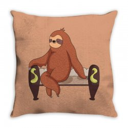 geeky humour tshirt Throw Pillow | Artistshot