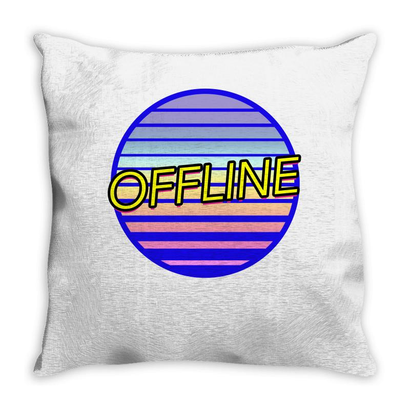 Offline Throw Pillow | Artistshot