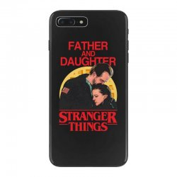 father and daughter stranger things iPhone 7 Plus Case | Artistshot