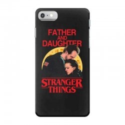 father and daughter stranger things iPhone 7 Case | Artistshot