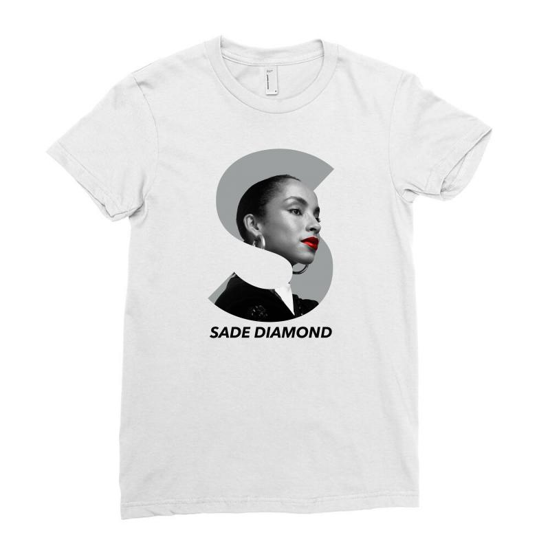 Sade Diamond For Light Ladies Fitted T-shirt | Artistshot