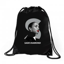 sade diamond for dark Drawstring Bags | Artistshot
