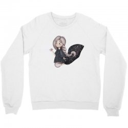 Space Girl Crewneck Sweatshirt | Artistshot