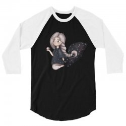 Space Girl 3/4 Sleeve Shirt | Artistshot