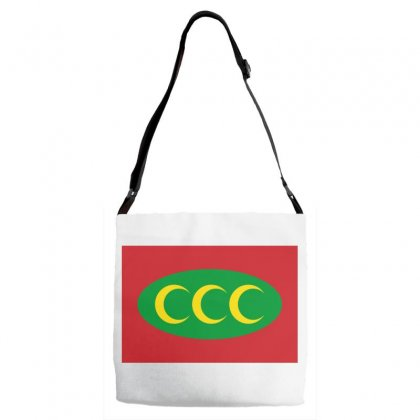 Ottoman Empire Flag Adjustable Strap Totes Designed By Nassim