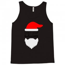 Don't Stop Believing Santa Tank Top | Artistshot