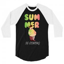 summer is coming 3/4 Sleeve Shirt | Artistshot