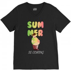 summer is coming V-Neck Tee | Artistshot