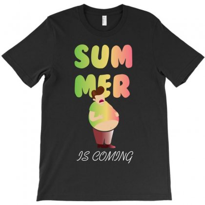 Summer Is Coming T-shirt Designed By Rardesign