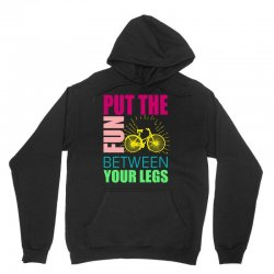 put the fun between your legs Unisex Hoodie | Artistshot
