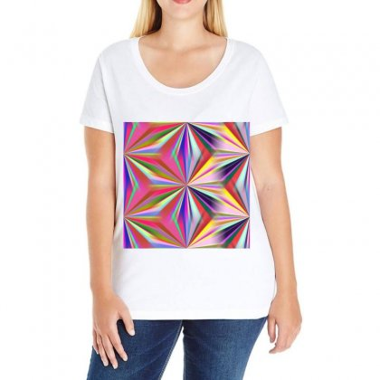 Seamless Repeating Tiling Tileable Abstract Ladies Curvy T-shirt Designed By Salmanaz