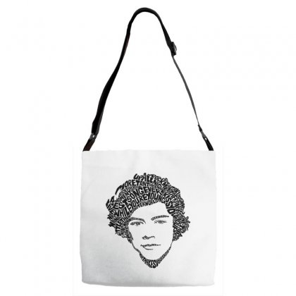 Harry Face Adjustable Strap Totes Designed By @riana