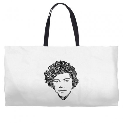 Harry Face Weekender Totes Designed By @riana