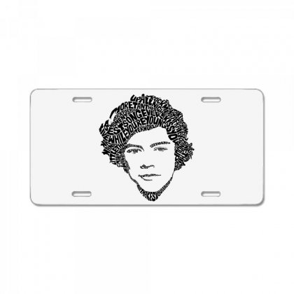 Harry Face License Plate Designed By @riana