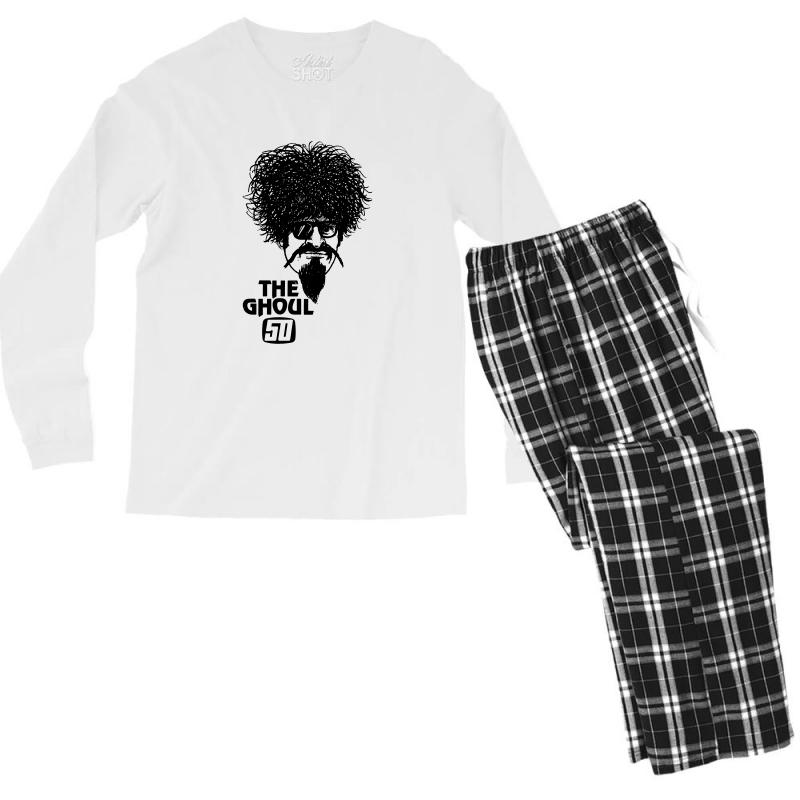 The Ghoul Channel 61 Men's Long Sleeve Pajama Set | Artistshot