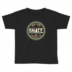 New York Skate Park Toddler T-shirt | Artistshot