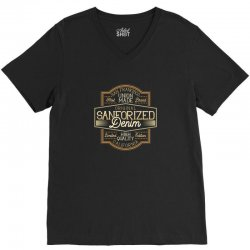 SANFORIZED V-Neck Tee | Artistshot