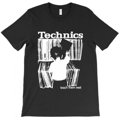 Technics T-shirt Designed By Allison Serenity