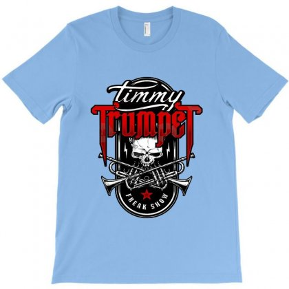 Timmy Freak Show Badge T-shirt Designed By Allison Serenity
