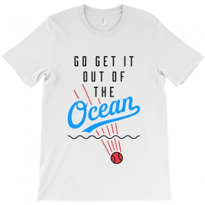 Go Get It Out Of The Ocean T-shirt Designed By Allison Serenity