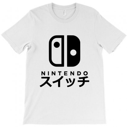 Nintendo Switch T-shirt Designed By Allison Serenity