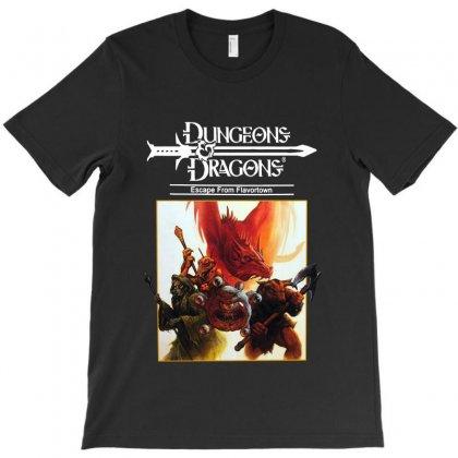 Dungeons & Dragons Escape From Flavortown T-shirt Designed By Allison Serenity