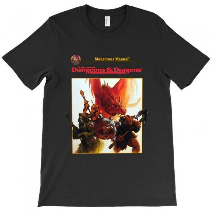 Dungeons And Dragons   Advanced T-shirt Designed By Allison Serenity