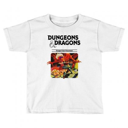 Escape From Flavortown Toddler T-shirt Designed By Allison Serenity