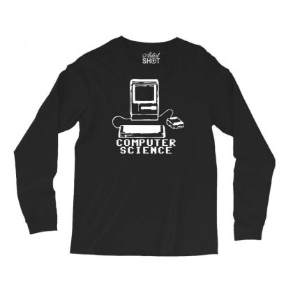Computer Science Pc Nerd Gamer Zocker Shooter Funny Long Sleeve Shirts Designed By Teeshop