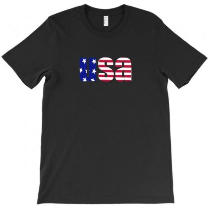American Freedom Flag T-shirt Designed By Enjang