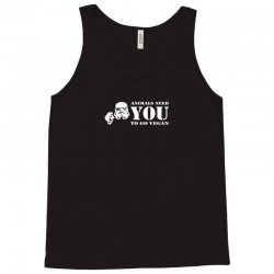 animals need you to go vegan funny Tank Top | Artistshot