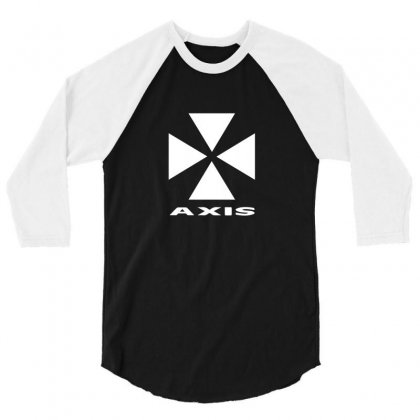 Axis Records 3/4 Sleeve Shirt Designed By Funtee